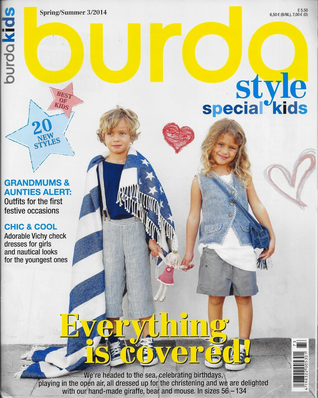 Smf Designs And Friends Burda Style Kids 2014