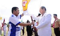 PELANTIKAN PENGURUS PERSATUAN DRUM BAND INDONESIA, PALANG MERAH REMAJA DAN SAKA BHAKTI HUSADA KABUPATEN
