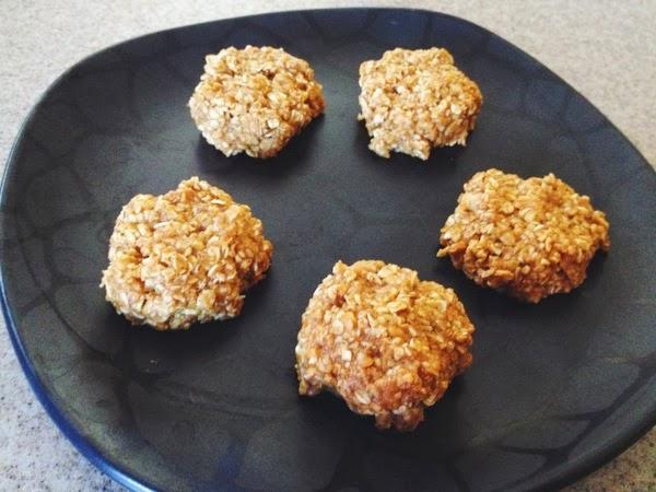 Pumpkin No-Bake Cookies