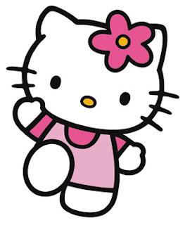 Desenho da Hello Kitty colorido