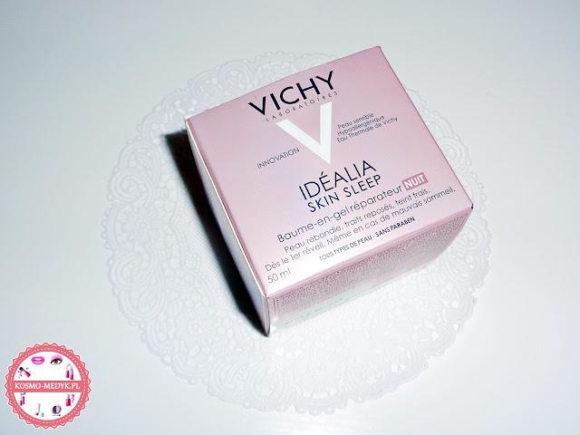 Vichy Idealia Skin Sleep - Regenerujący balsam w żelu