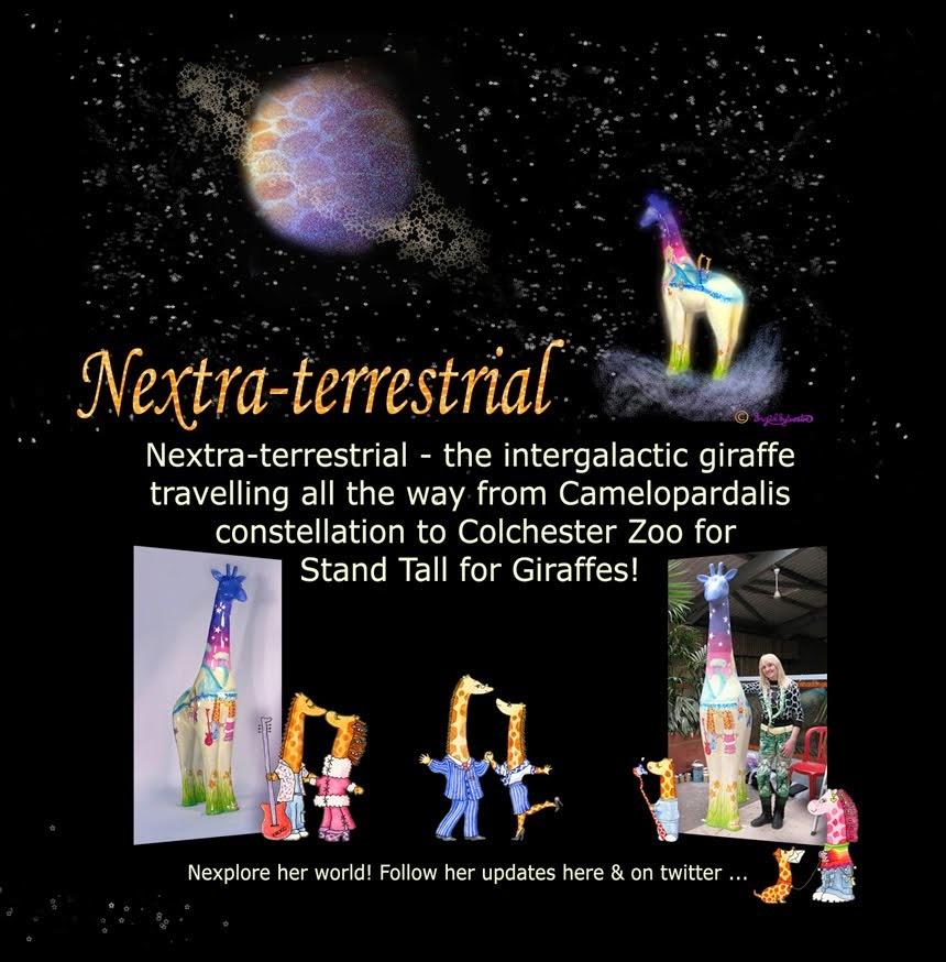 Nextra-terrestrial Giraffe