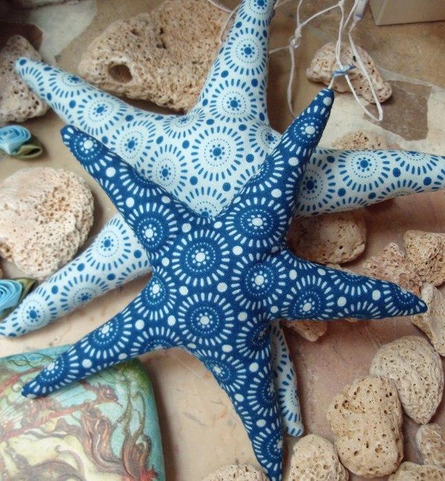 Морская звезда своими руками из ткани