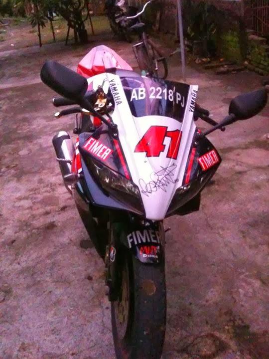 Modifikasi Yamaha Vixion Sporty Yamaha R125