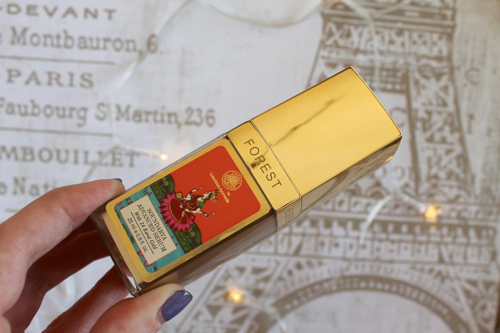 Forest essentials 24 karat gold