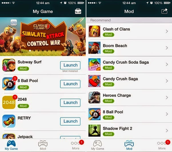 Xmod Games Version 1.1.5 Android