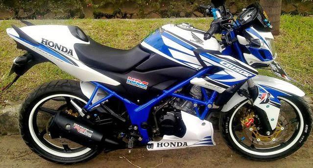 Galeri Foto Modifikasi Honda CB150R Paling Keren