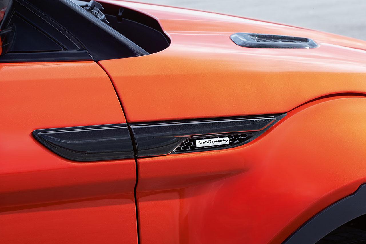 Range Rover Evoque Autobiography Dynamic detail