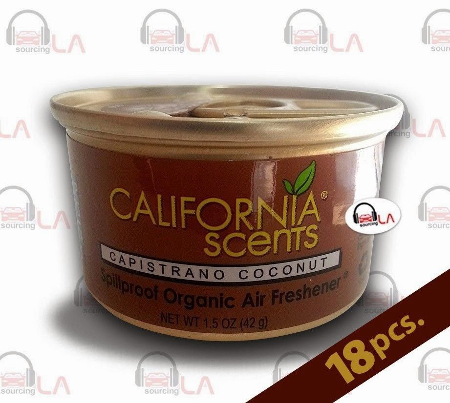 http://www.ebay.com/itm/California-Scents-Capistrano-Coconut-Air-Freshener-Box-of-18-Special-/131350249360