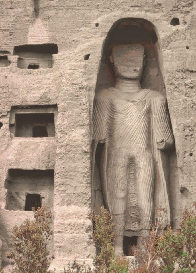 Los budas de Bamiyán, el buda pequeño - www.historiadelascivilizaciones.com