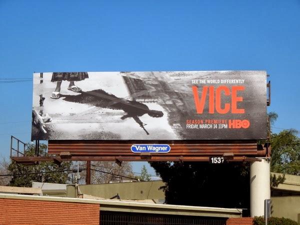 Vice season 2 HBO billboard