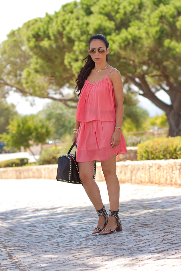 Zara SALMON DRESS