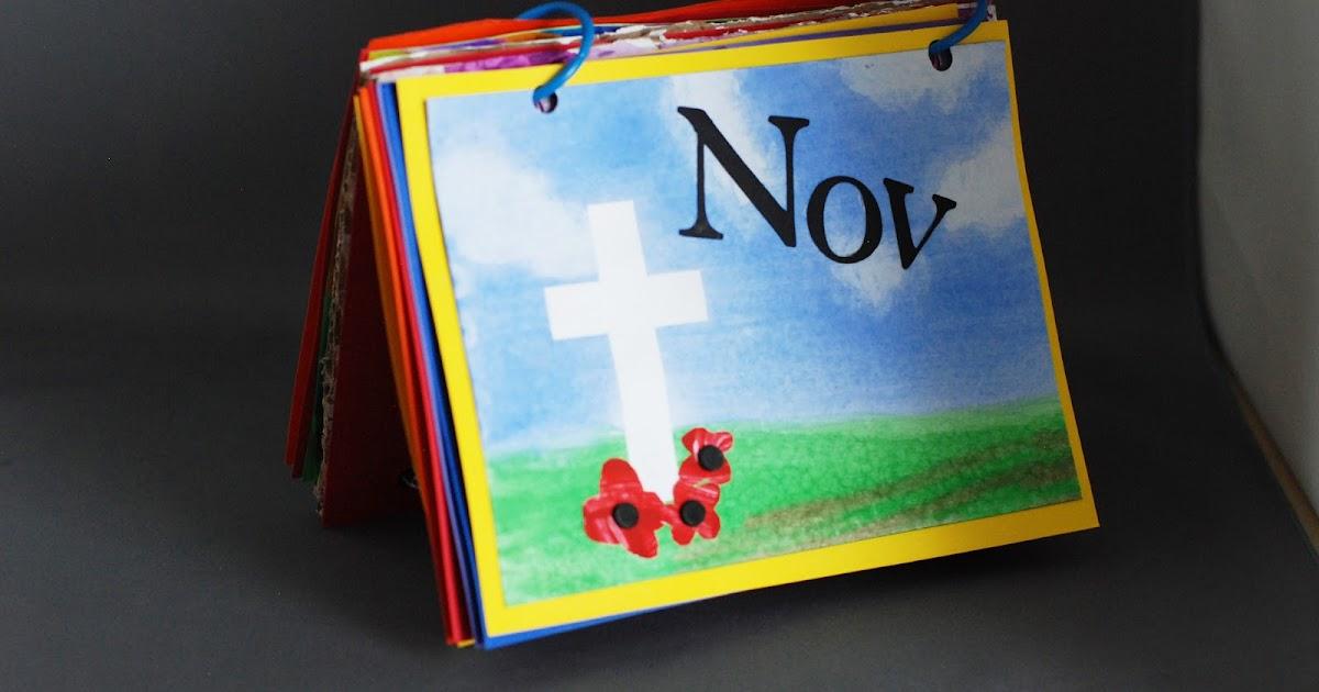 Calendar Art Project : That artist woman how to make an art calendar