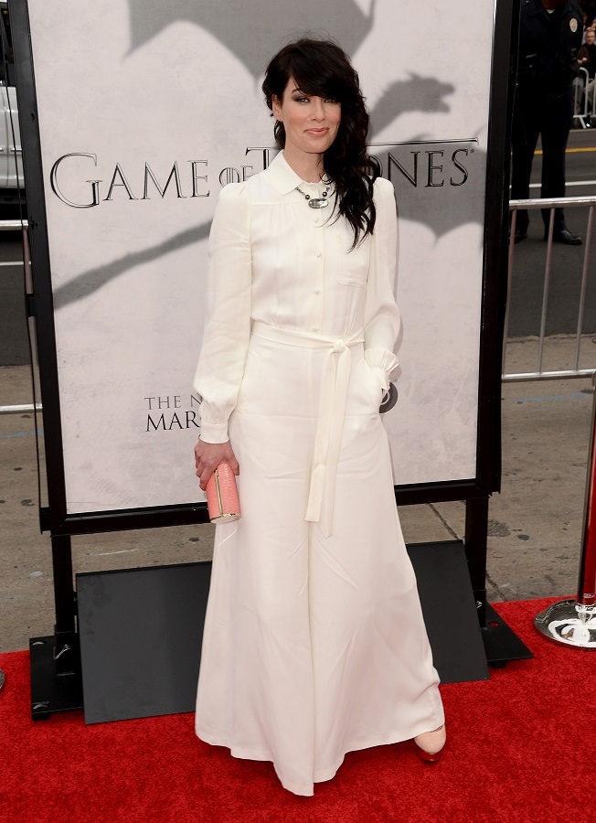 "Lena Headey poses at ""Game of Thrones"" Season 3 premiere in LA"