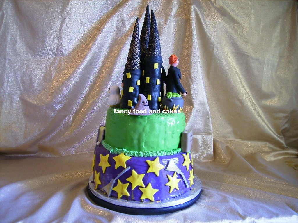 fancy food cakes harry potter cake. Black Bedroom Furniture Sets. Home Design Ideas