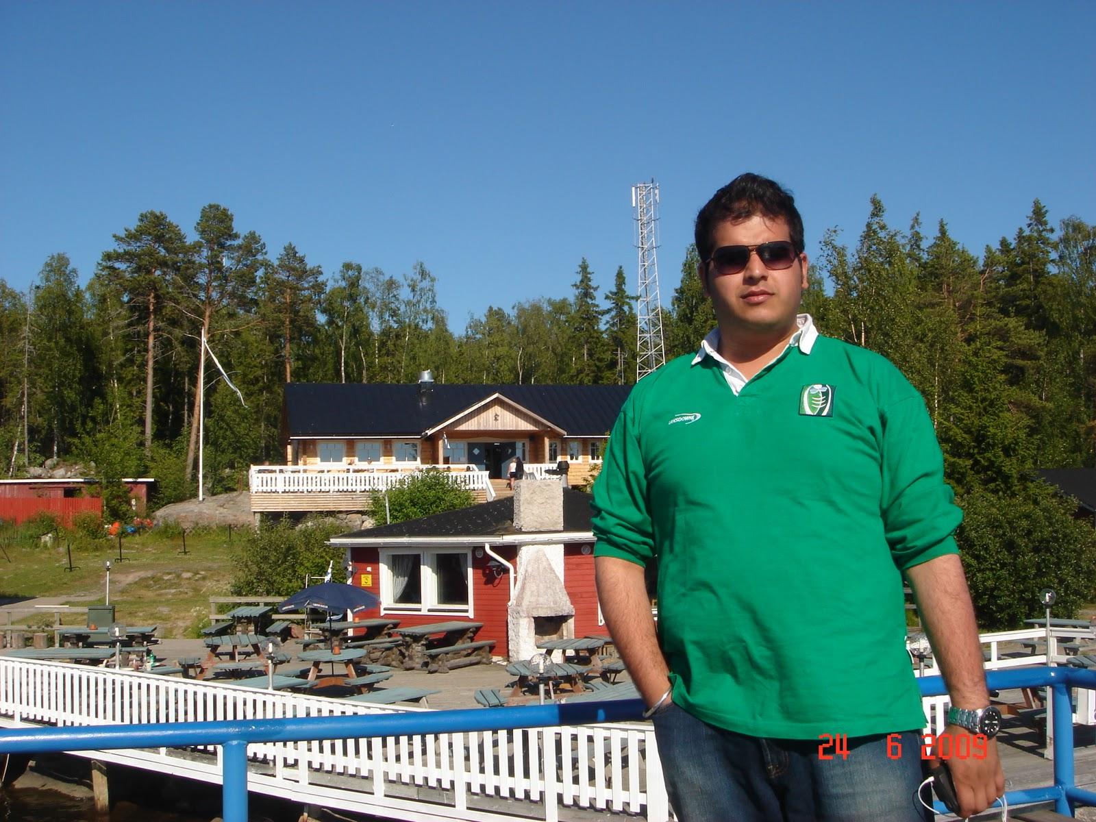 Janne's Saloon Restaurant at Kuusisaari Island,Finland