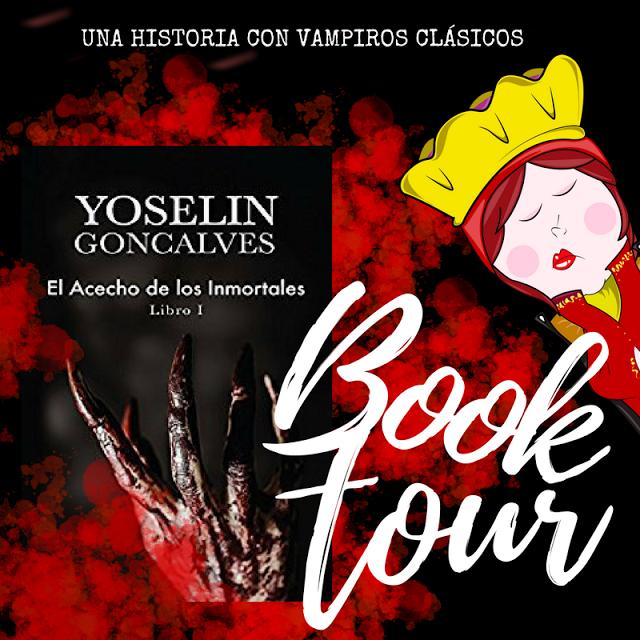 Book Tour El acecho de los inmortales