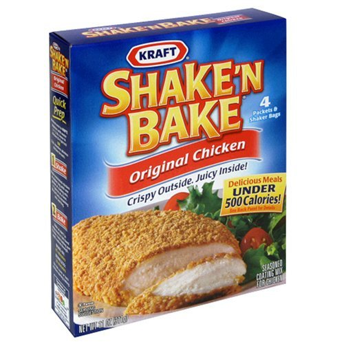 shake and bake fried chicken