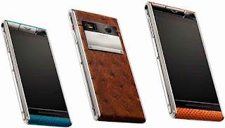 Harga dan Spesifikasi Vertu Aster, Smartphone Paling Mahal