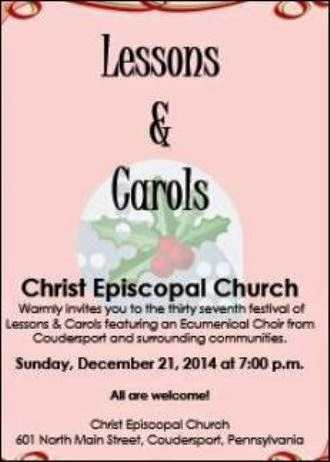 12-21 37th Festival Of Lessons & Carols