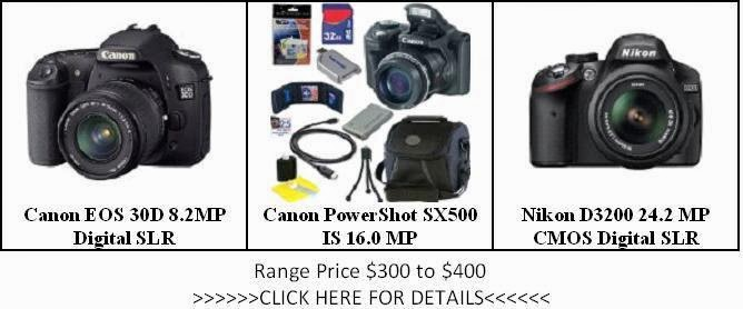 The List of Camera Price $300 to $400