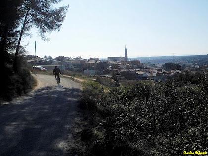 Arribant a Castellar del Vallès. Autor: Carlos Albacete