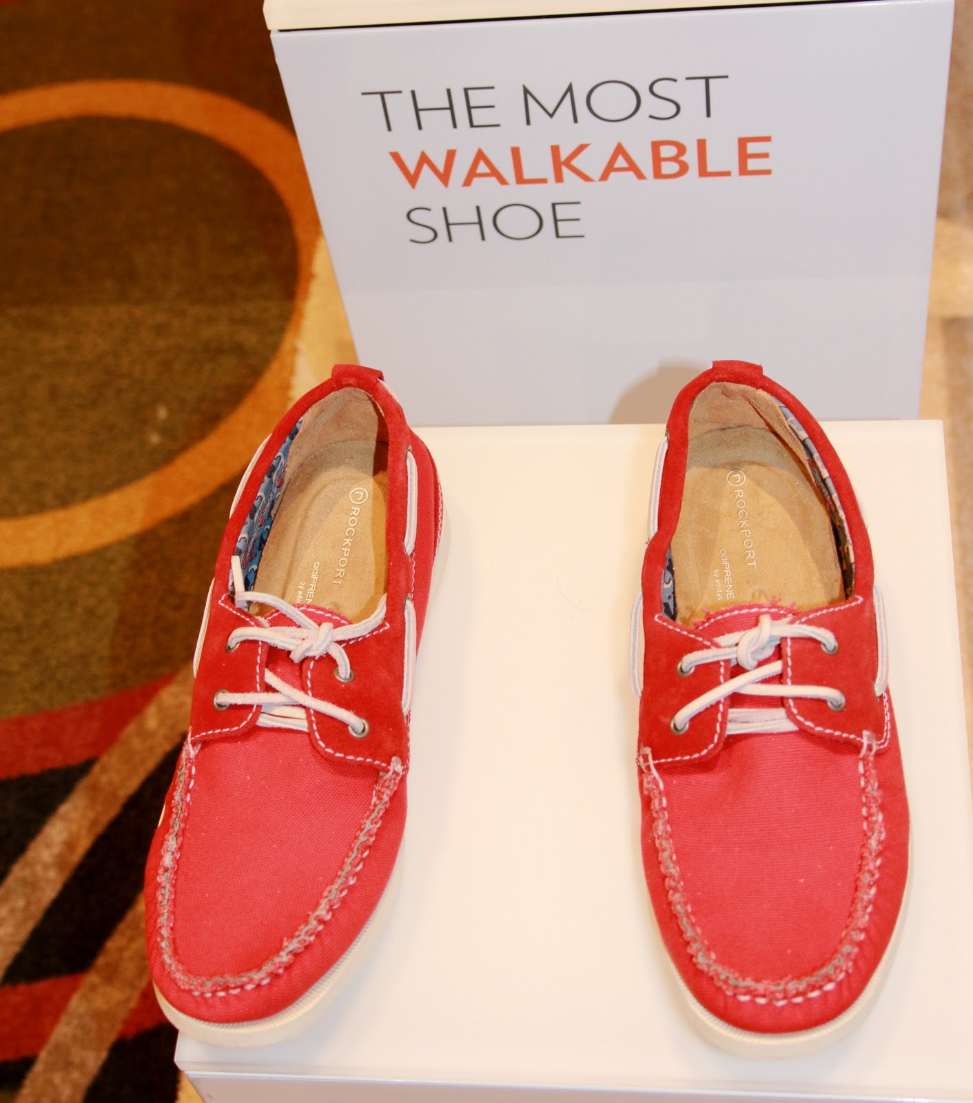 The high and low top boat shoes---are designed with input of sailors---are  handsome, with retro-details and walkable----as in--- are very flexible