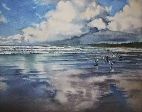 Creating Dynamic Skies In Watercolor
