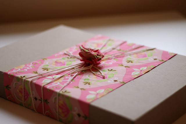 Pretty wrapped package