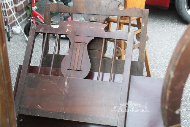Auction Vintage Headboard/footboard, Bliss-Ranch.com
