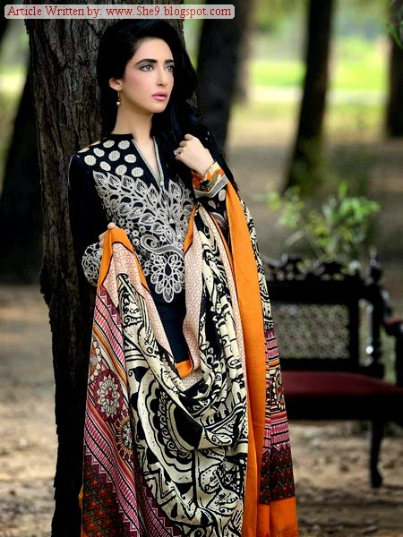 Gul Ahmed Pashmina Winter Collection 2014