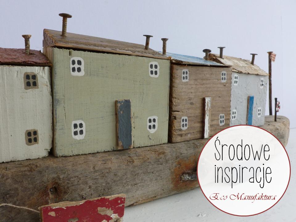 """Drewniany recykling  Kirsty Elson w """"Środowych Inspiracjach""""."""