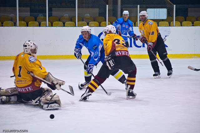 UHL A līga HK Tērvete - Sport Lukss 2
