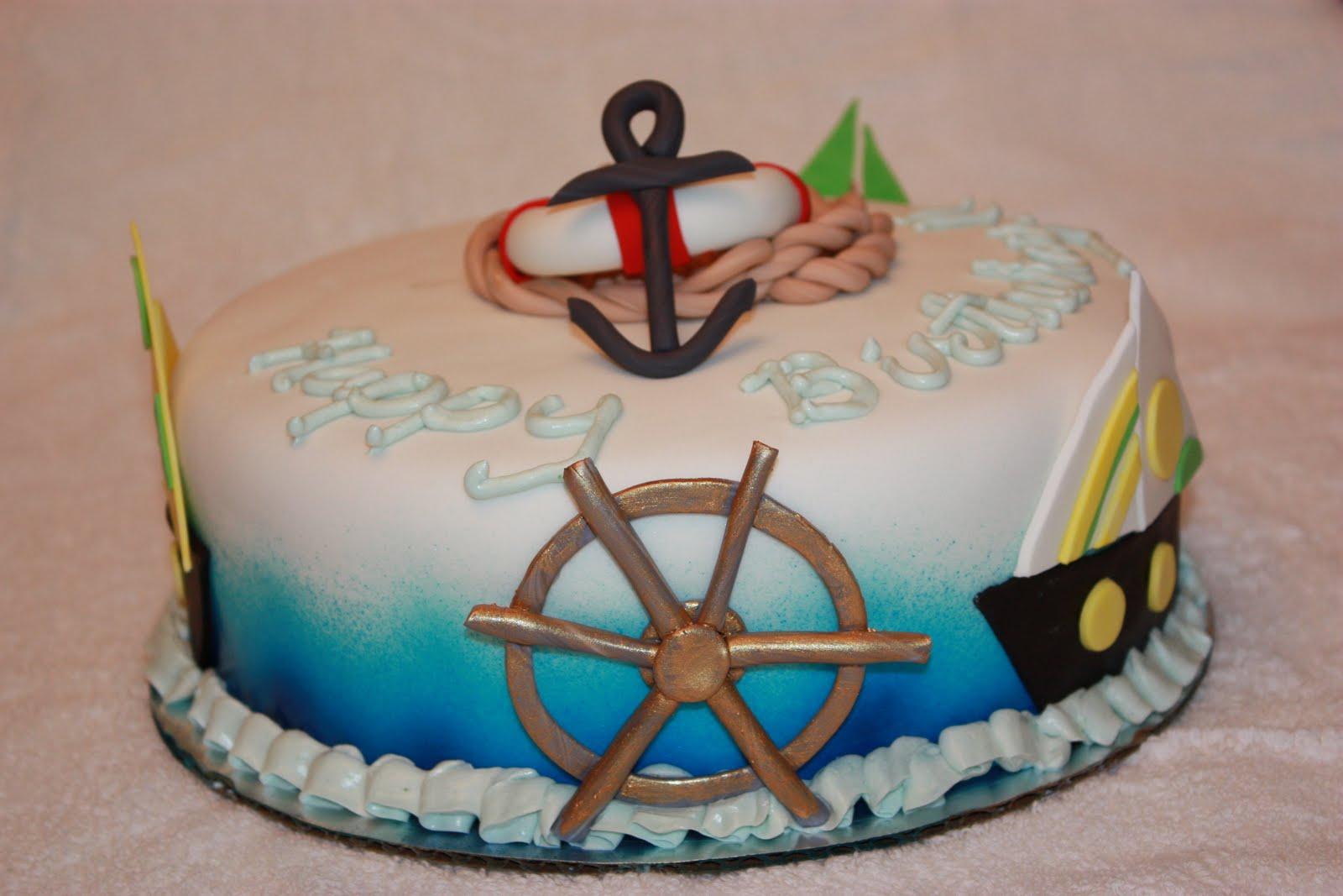 Sweet On You Designer Cups Cakes Sail Away