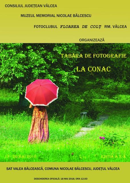 """TABĂRA DE FOTOGRAFIE """"LA CONAC"""""""