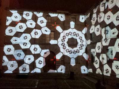 Mapping. Festes de Sant Narcís. Plaça de la Catedral. Origens. 2013.