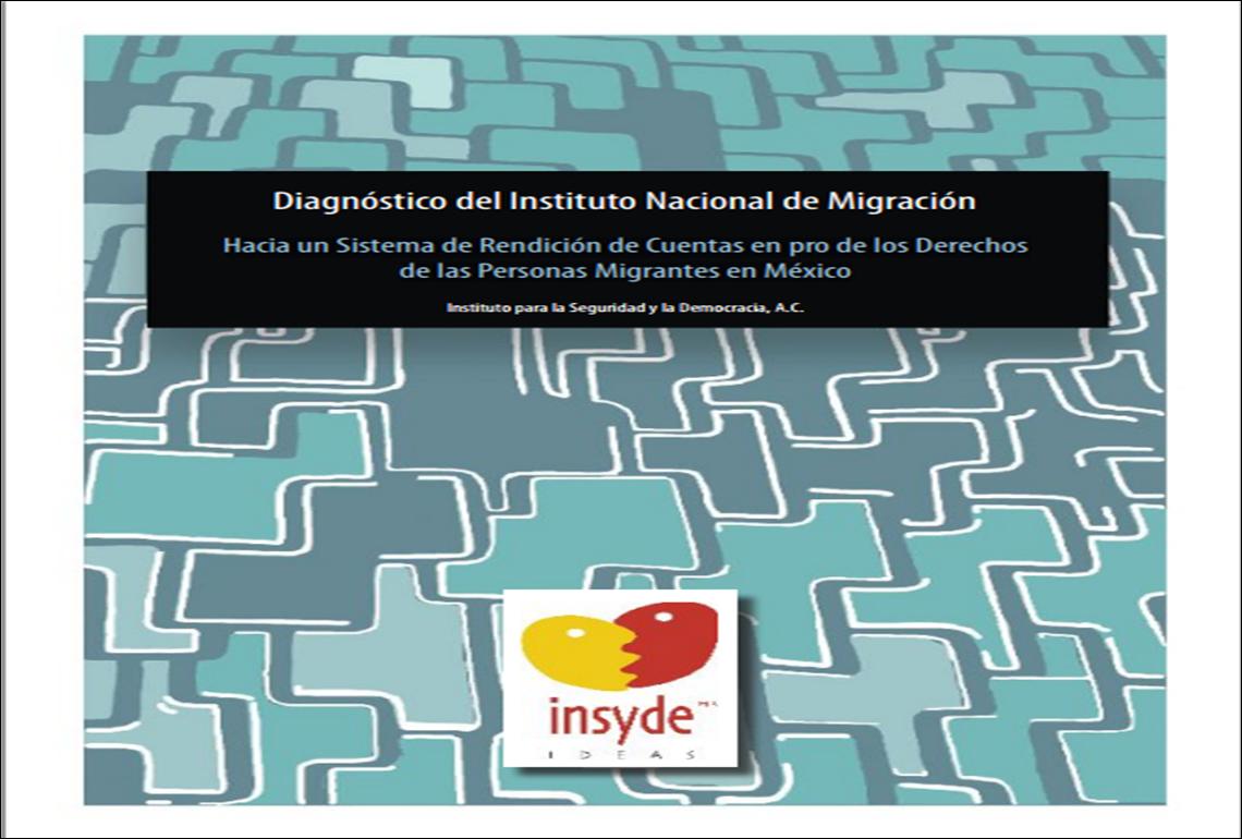 Diagnóstico del Instituto Nacional de Migración