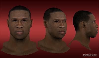 NBA 2K13 Mickael Pietrus Cyberface Mod