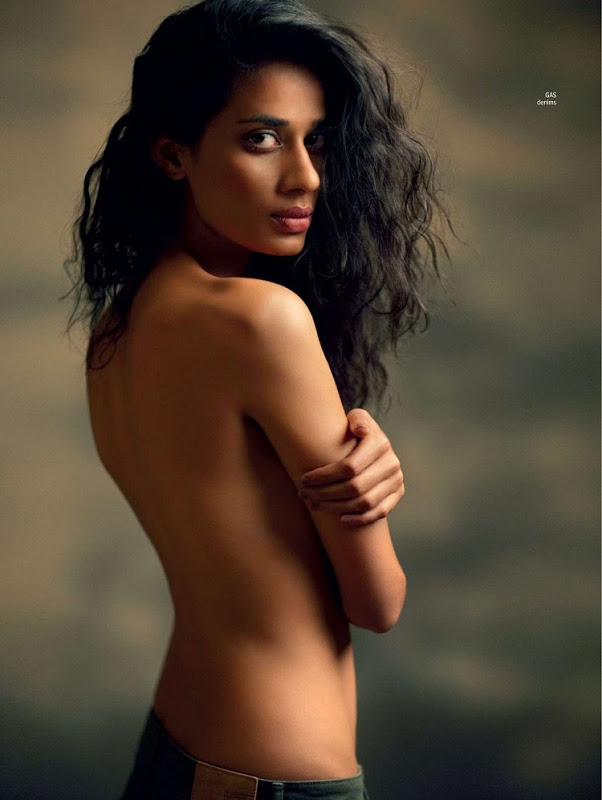 Maxim India Cover Page with 7 Topless Indian models Desi Girls Topless