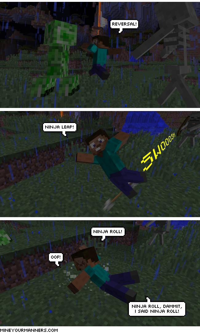 Minecraft Webcomic