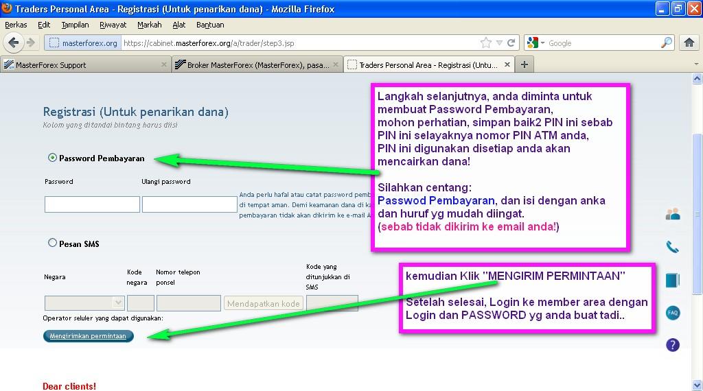 Cara lock profit forex