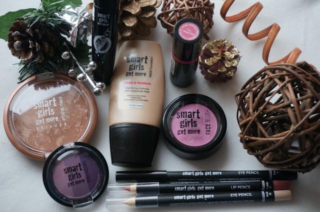 Smart Girls Get More - tanie i dobre jakościowo kosmetyki kolorowe cz.1