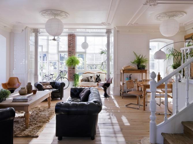 Interior mix de estilos dec en una casa de 1900 virlova style for Casa deco maison