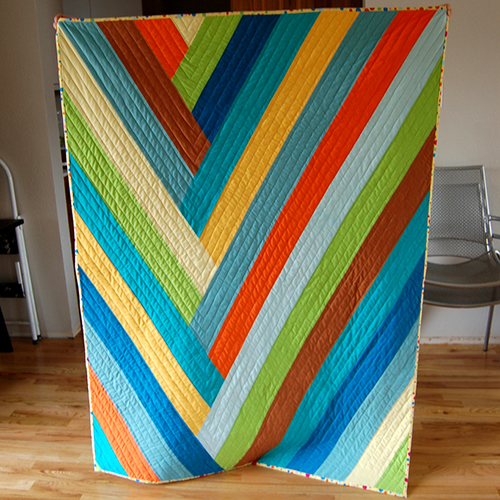 Braided Stripe Quilt