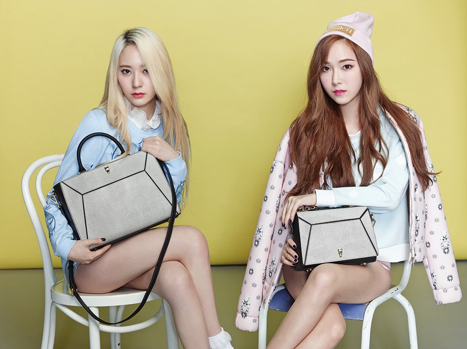 SNSD Jessica & f(x) Krystal Pictures for Lapalette 2014 S/S