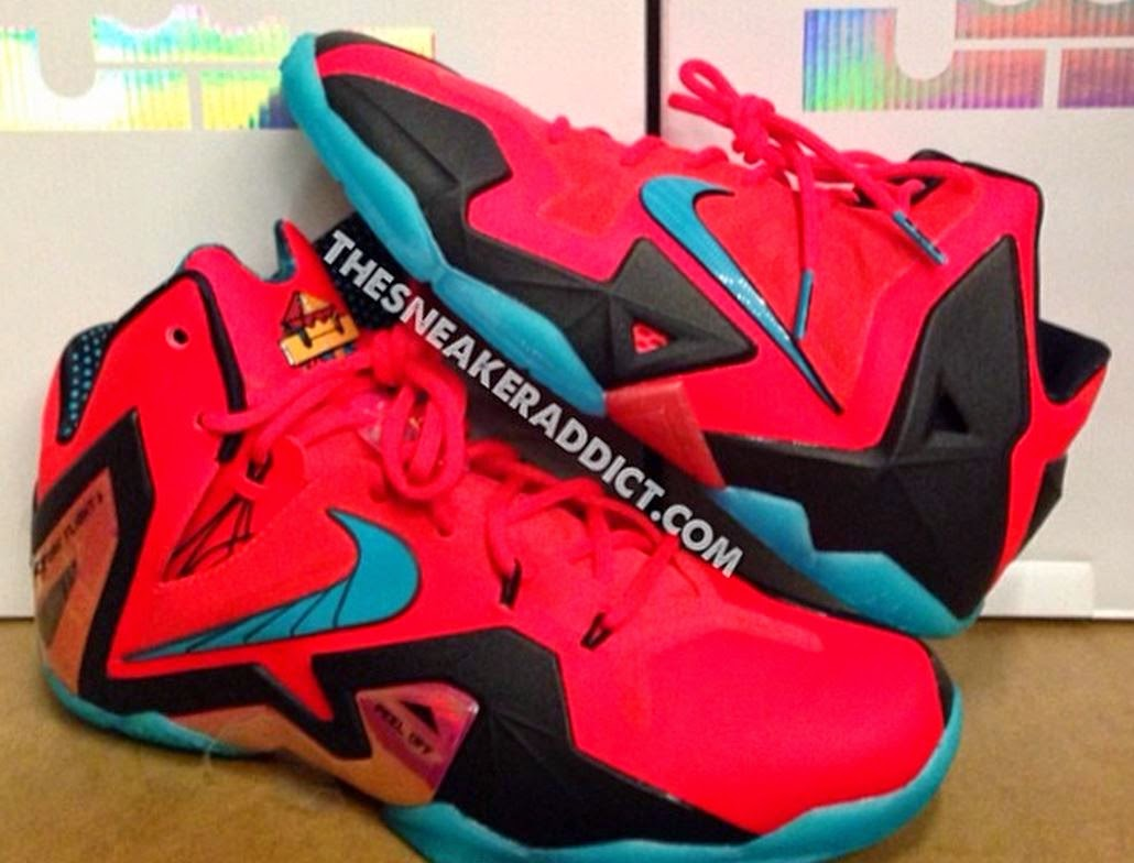 the sneaker addict nike lebron 11 superhero gs vs elite