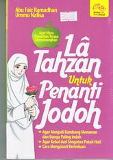 la tahzan untuk penanti jodoh rumah buku pernikahan islam