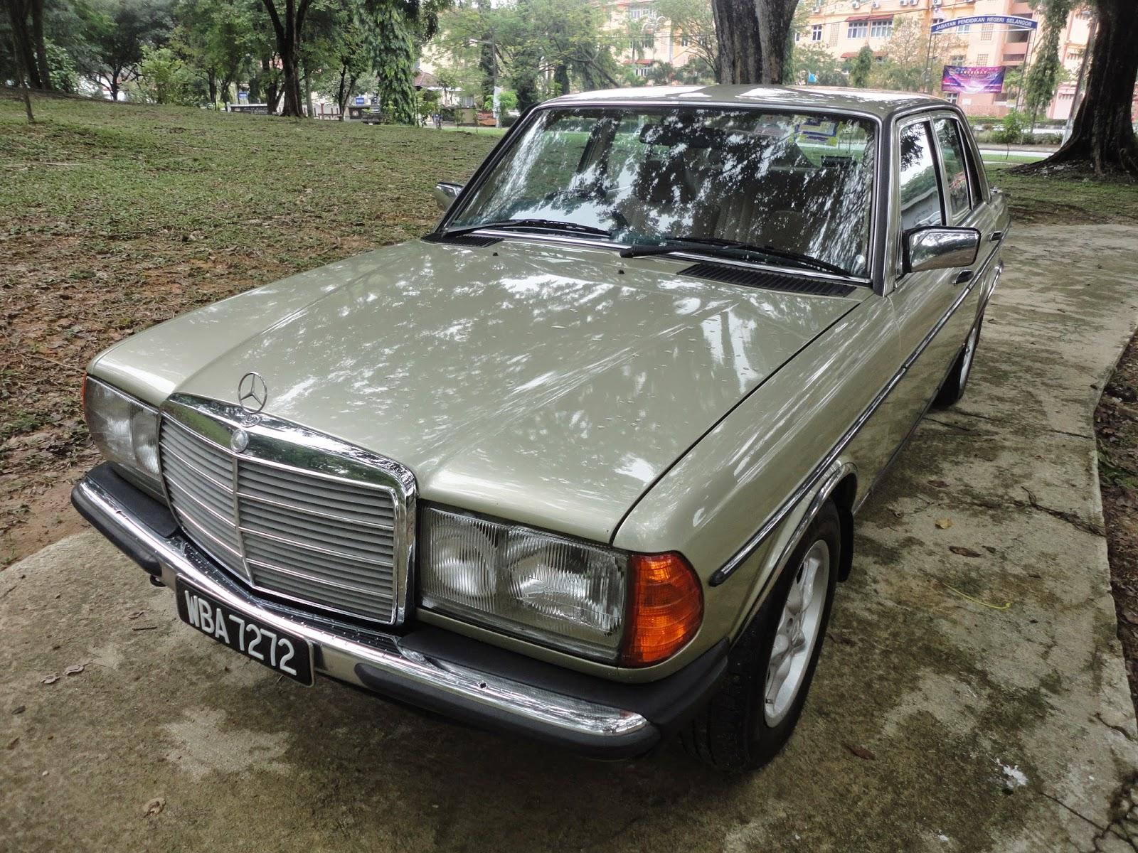 My daughter 39 s 1984 mercedes benz w123 230e langkasa for 1984 mercedes benz
