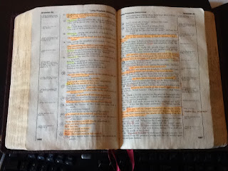 Bibles we have studied for a long time become rich memorials to our relationship with Christ