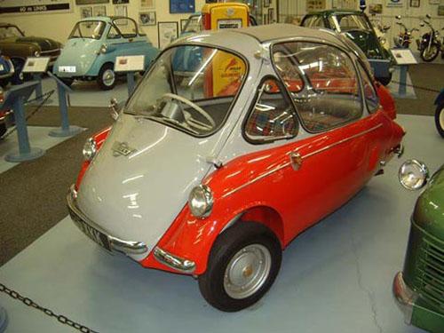 micro carros - microcars - Trojan 200
